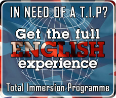 tip, total immersion program, english, globally spoken rotterdam dordrecht bijles engels